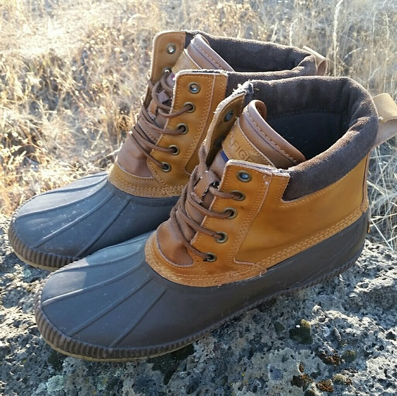 466a56a479a0a Tommy Hilfiger Casey Duck Boots